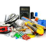 Collection tools Stock Images