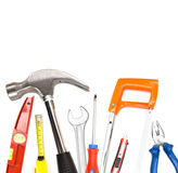 Collection of tools on high definition Stock Photo