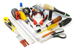 Collection tools Stock Photography