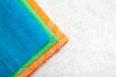 Collection of Towels Royalty Free Stock Photography