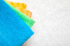 Collection of Towels Stock Photos