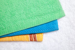 Collection of Towels Stock Image