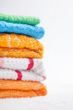 Collection of Towels Stock Images