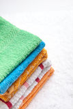 Collection of Towels Stock Photography