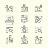 Collection of Toy Camera Vector Stock Images