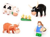 Collection of toys Stock Images