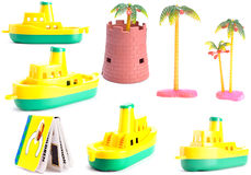 Collection Toys Royalty Free Stock Image