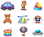 A collection of toys Stock Images