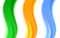 Collection of transparent web headers or dividers Royalty Free Stock Images