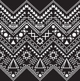 Collection tribal borders. Royalty Free Stock Images