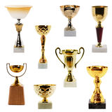 Collection Trophy stock photo