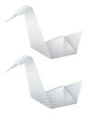Origami birds vector illustration