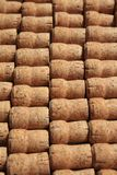 Collection of used wine and sparkling wine corks Royalty Free Stock Photography