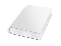 Collection of various blank white book on white background Royalty Free Stock Image