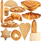 Collection of various fresh bakery Stock Images