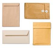 Grunge envelope Stock Images