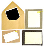 Collection of various note papers Royalty Free Stock Photos