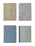 Collection of various old book covers isolated on white Stock Photography