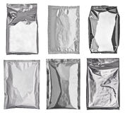Aluminum bag Royalty Free Stock Image