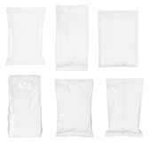 White paper bag Royalty Free Stock Photography