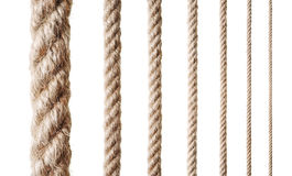 Collection of various ropes Royalty Free Stock Photo