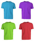 Collection of various t shirts Stock Photography