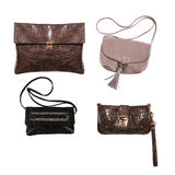 Collection of various types of handbags Stock Photography