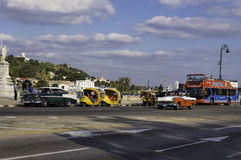 Collection of various vehicles Stock Photography