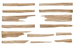 Collection of various dry wood for kindling royalty free stock photography