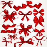 Collection of vector bows for design Royalty Free Stock Photo