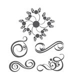 Collection of vector design elements Royalty Free Stock Images