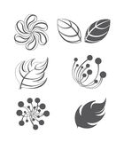 Collection of vector design elements Stock Image