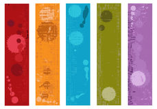 Collection of vector grunge banners Stock Photo