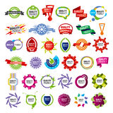 Collection of vector icons framework Stock Photography
