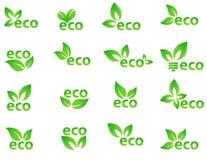 Collection of vector logos Stock Photo