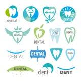 Collection of vector logos dentistry Stock Photos