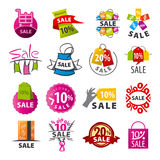 Collection of vector logos discount Stock Images