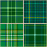 Collection of vector st. patrick's backgrounds Royalty Free Stock Photos
