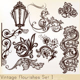 Collection vector vintage Royalty Free Stock Photo