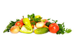 Collection vegetables Royalty Free Stock Photos