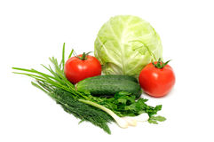 Collection vegetables Royalty Free Stock Image