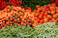 Collection of Vegetables Stock Photography