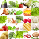 Collection of vegetables Royalty Free Stock Image
