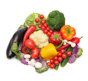 Collection vegetables Royalty Free Stock Images