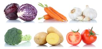 Collection of vegetables tomatoes carrots fresh food vegetable p Stock Image