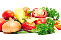 Collection vegetables Royalty Free Stock Photo