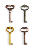 Collection of vintage keys Royalty Free Stock Photography