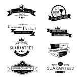 Collection of vintage labels Royalty Free Stock Images