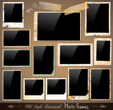 Collection of Vintage Photo Frames Royalty Free Stock Image