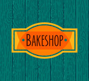 Collection of vintage retro bakery logo Royalty Free Stock Photography